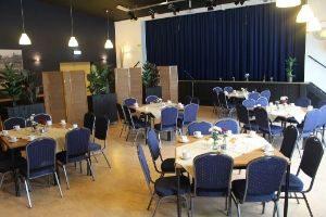 Grote zaal zaalverhuur Hollandscheveld Het Hart zaal huren